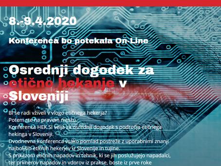 TOP 4 predavanja na največji hekerski konferenci v Sloveniji brezplačno