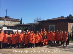 Obisk podjetja Cimos TAM Ai