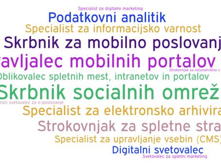 Bi delali kot strokovnjaki za e-poslovanje in digitalno transformacijo?