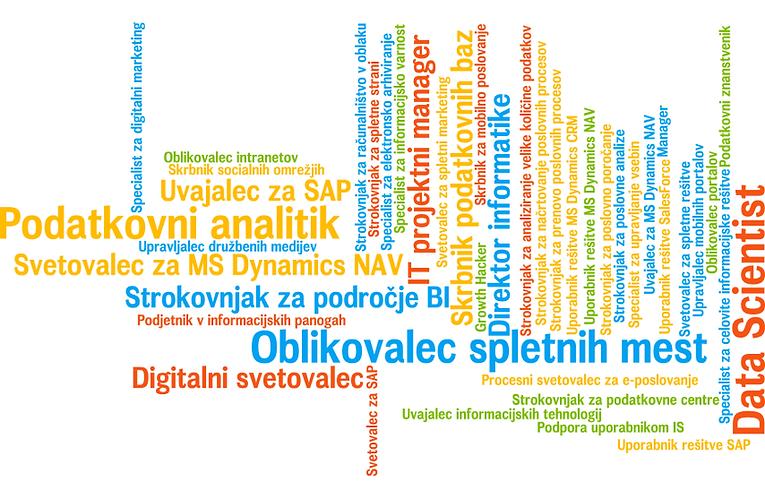 Poklici prihodnosti študija e-poslovanja