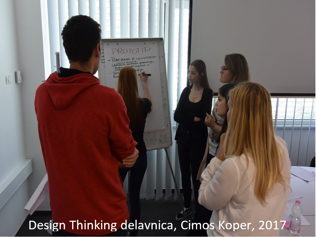DesignThinking delavnica