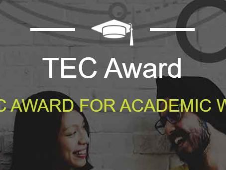 Nagradni natečaj TEC: s seminarsko nalogo do denarne nagrade