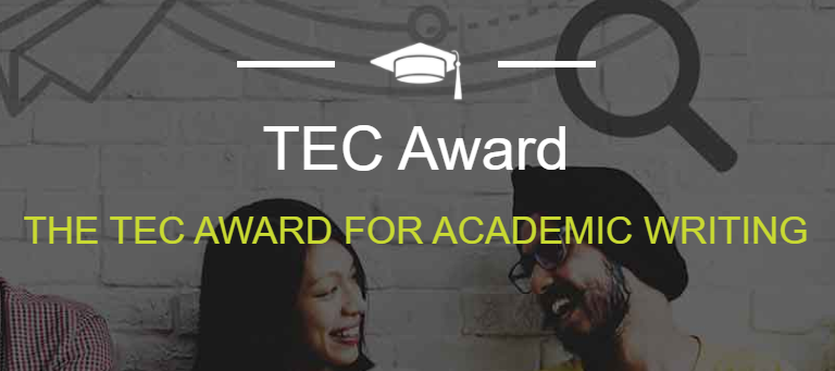 TEC Award for academic writing