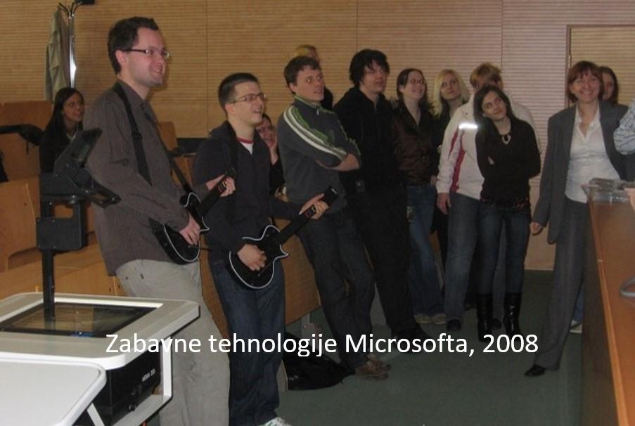 Zabavne tehnologije Microsofta