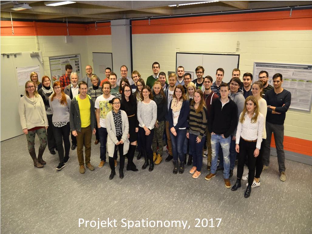 Sodelovanje na projektu Spationomy