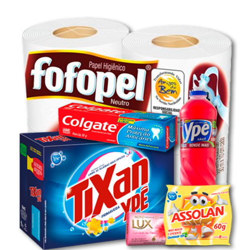 Kit de Higiene e Limpeza