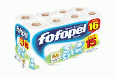 Papel Higiênico (64 rolos) Neutro - Fofopel