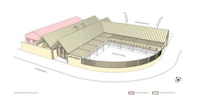 Hodson Architects Cafe Dansant Aerial Pe