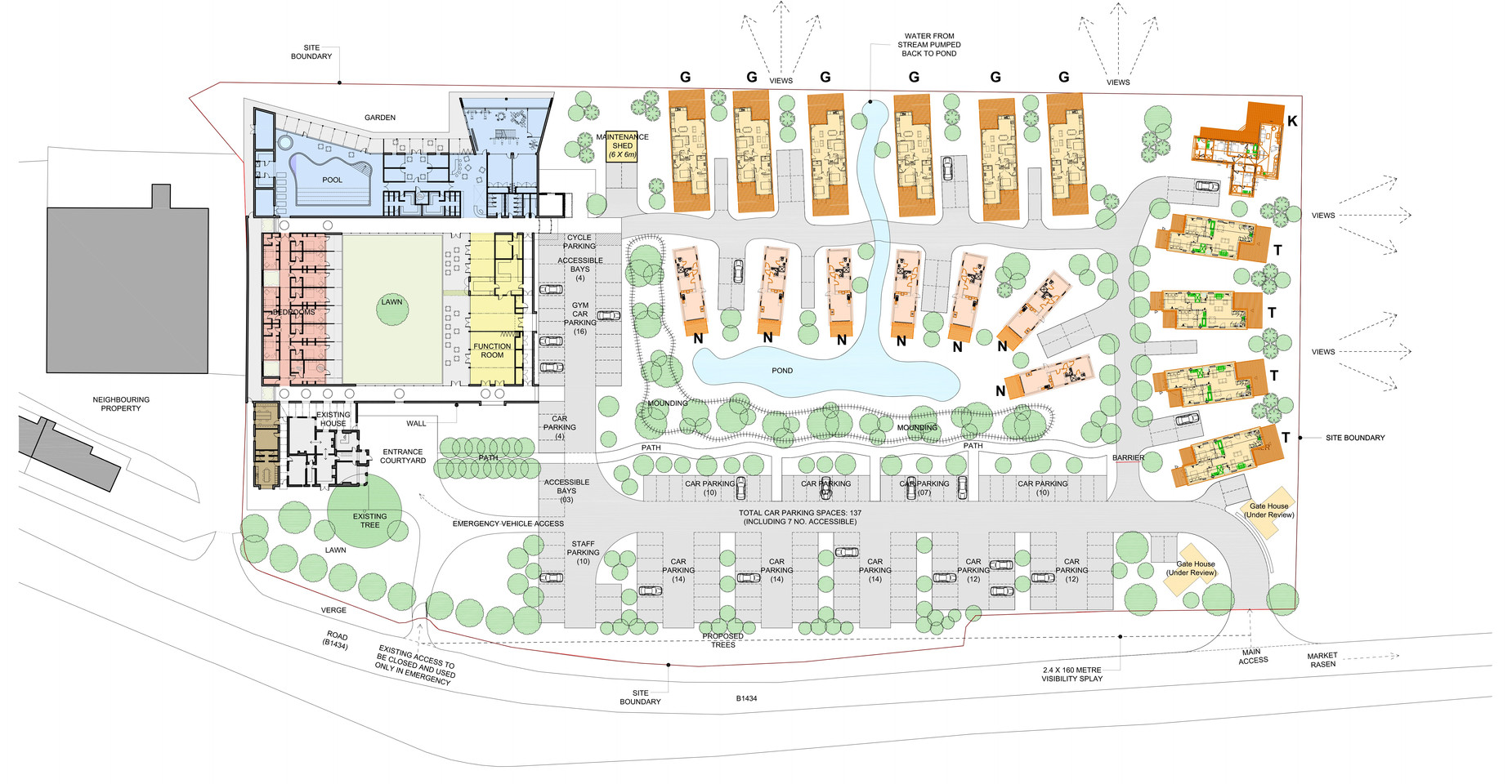 2419_P001_REV_H - Proposed Overall Site