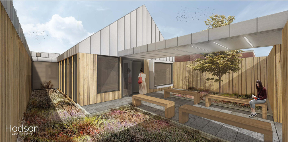 Hodson Architects - EDU Courtyard Visual