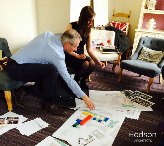 Hodson Architects - Hospital Site March