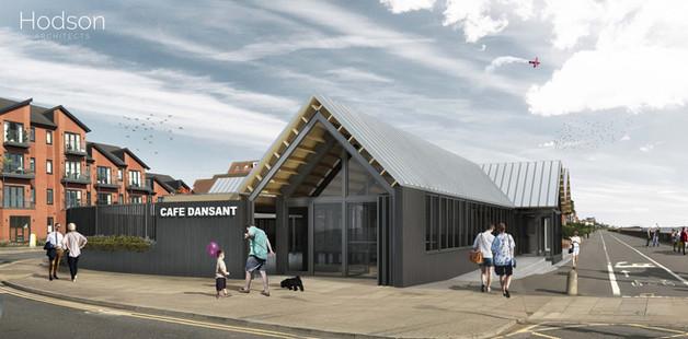 Hodson Architects Cafe Dansant Exterior