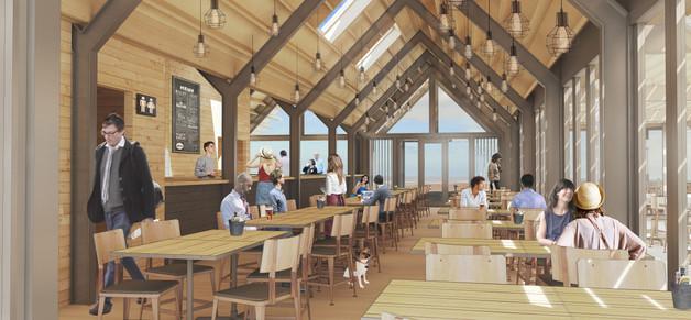 Hodson Architects Cafe Dansant Interior