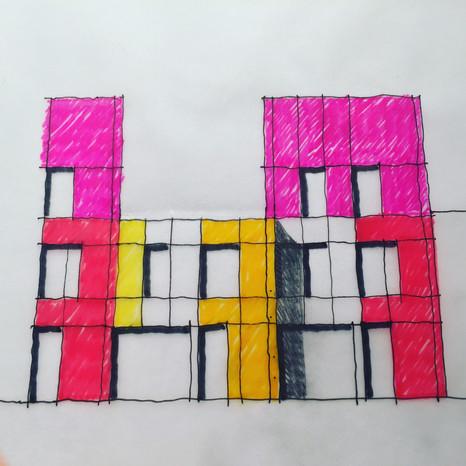 Hodson Architects - Hugh Webster Sketch.