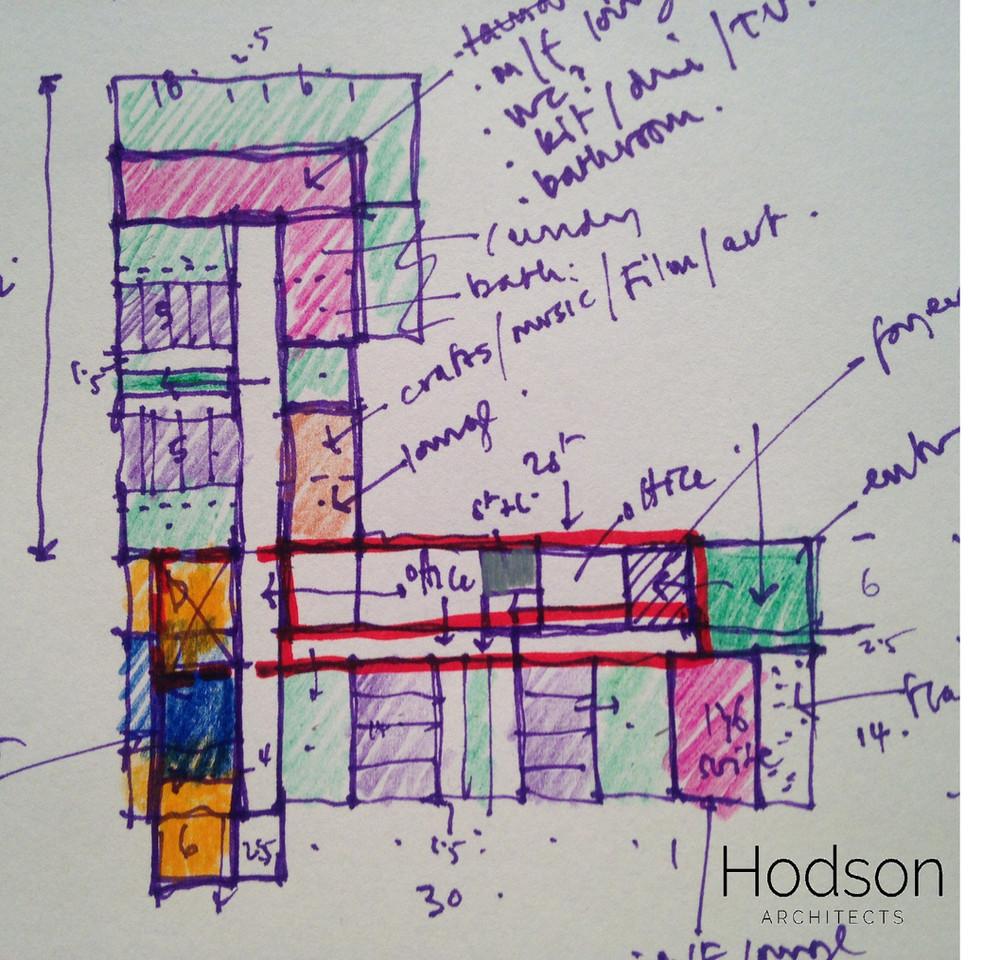 Hodson Architects - Health Facility Sket