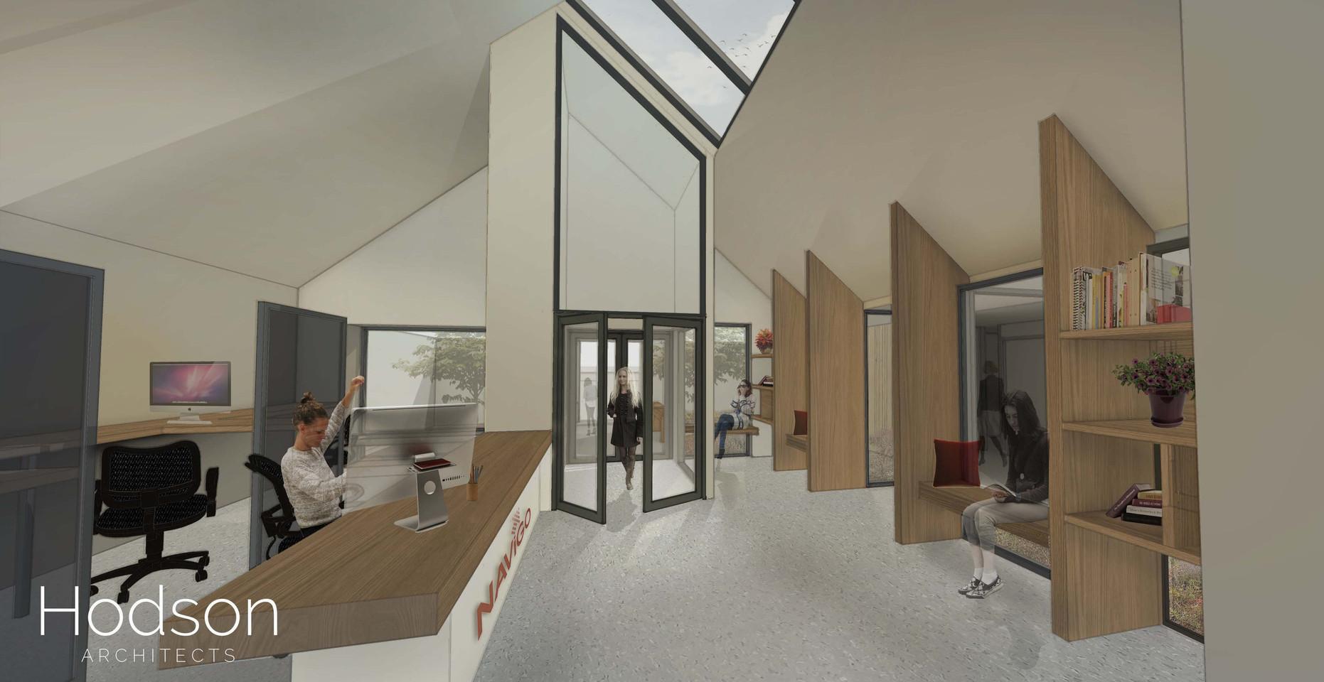 Hodson Architects - EDU Reception visual