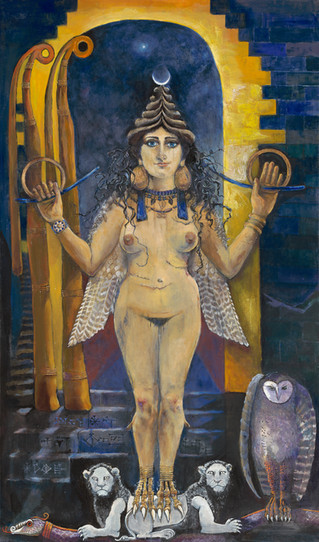 REBIRTH:   The Transfiguration of Inanna-Ereshkigal in the Underworld