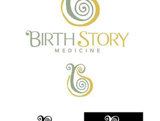 BIRTH STORY MEDICINE has a New Logo