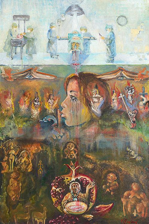 """8.5"""" x 11"""" Print of Faith Based Birth"""