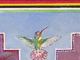 CHAKANA MANDALA: Hummingbird