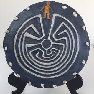 Labyrinths, hand-made