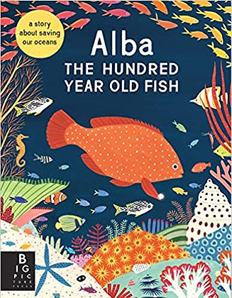 Alba the hundred year old fish. (By: Lara Hawthorne)