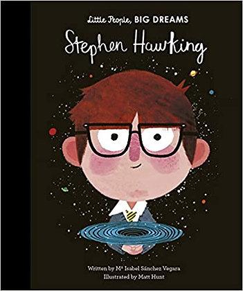 Little People, Big Dreams. Stephen Hawking (By: Maria Isabel Sanchez Vega