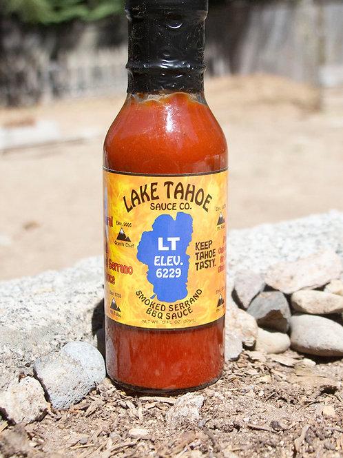 6/ 12oz Smoked Serrano bbq sauce