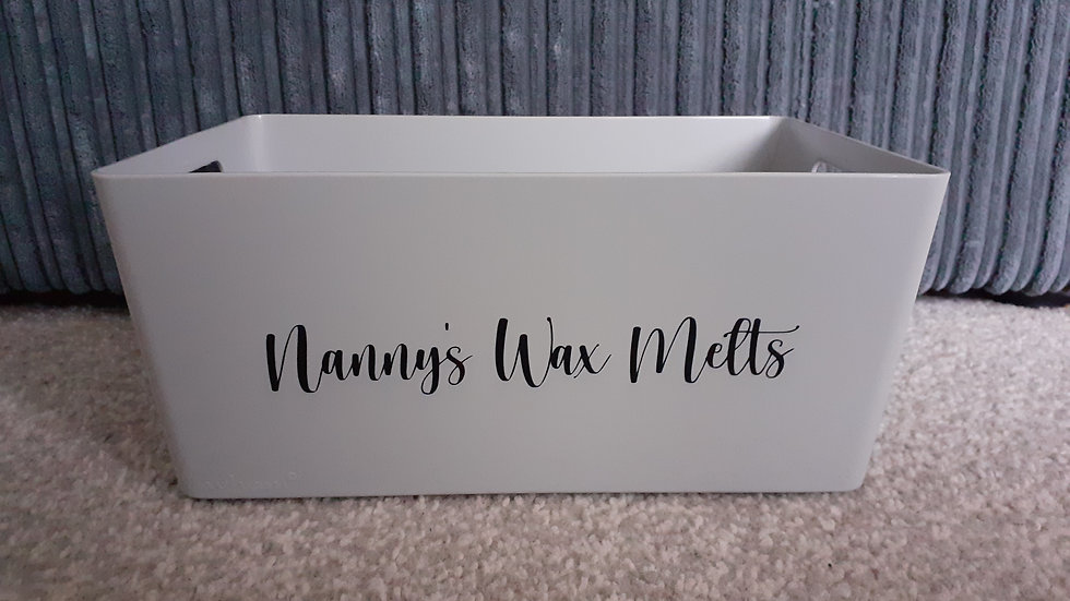 Personalised Storage Box