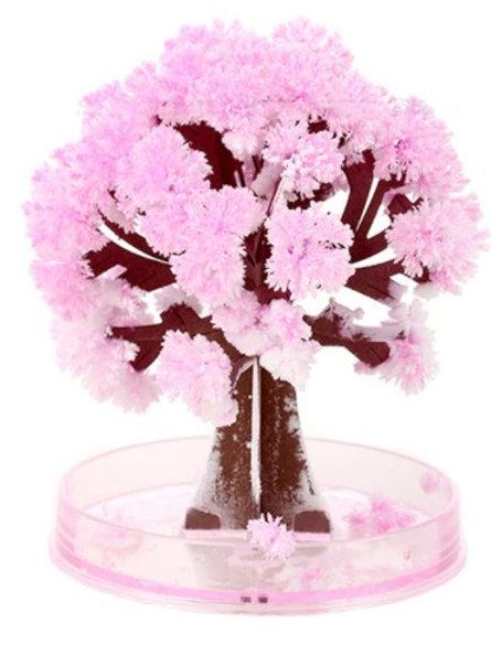 יצירת עץ קריסטלים - Crystal Tree