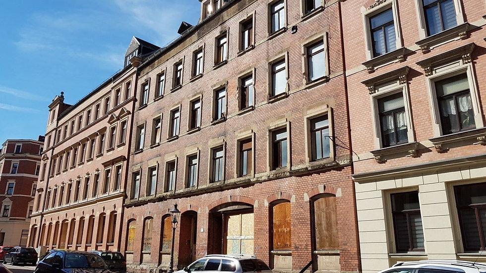 Kernsaniertes Mehrfamilienhaus in Chemnitz