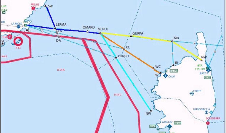 Traversée maritime Continent-Corse