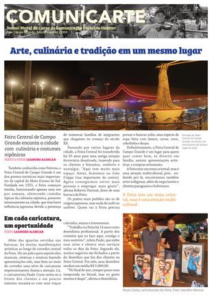 Feira multicultural é atração em Campo Grande