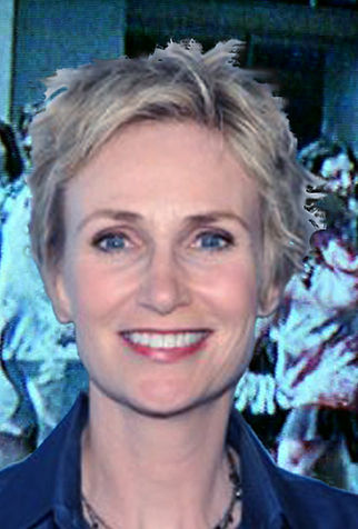Cameo appearance by Jane Lynch in Red LIpstick the Movie