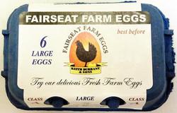 Six Large Eggs.
