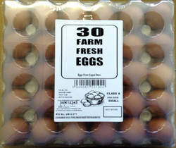 30 Small Wrapped Eggs