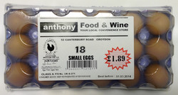Our 18 Egg      FAMILY PACK