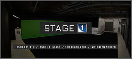 Green Screen black void soundstage stage rental los angeles