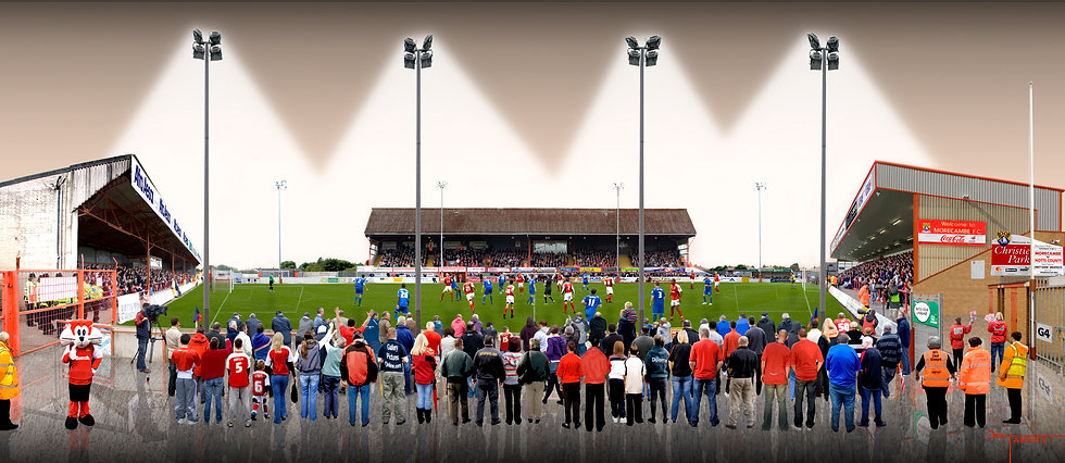 christie park morecambe football club end of an era by joe tamassy