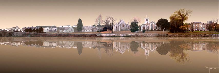 Reflection River Kent Kendal 1