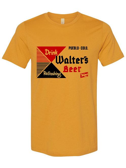 Vintage Walter's Design Yellow Tshirt