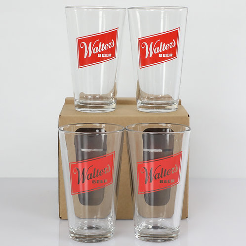 4 Pc. Pint Glass Set
