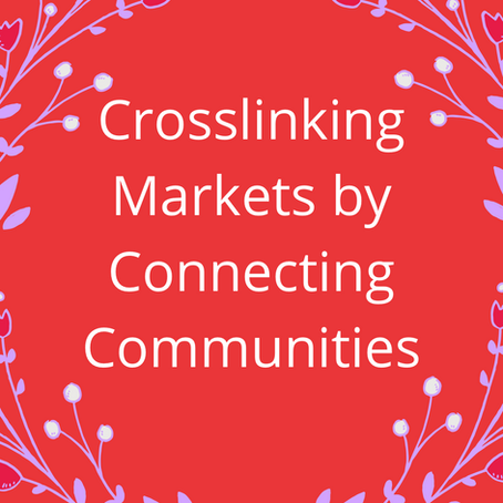 Crosslinking Markets by Connecting Communities