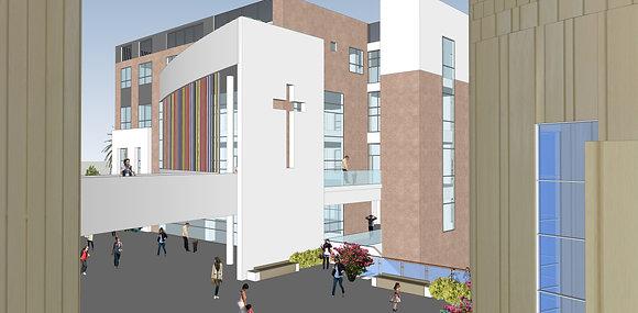 서귀포 법환교회 교육관 증축 계획안