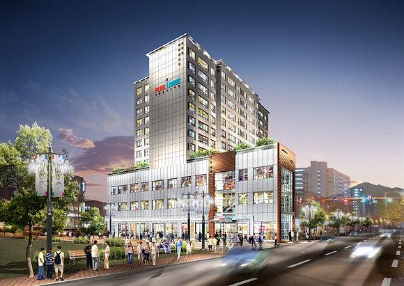 서울시 중랑구 면목동 복합시설
