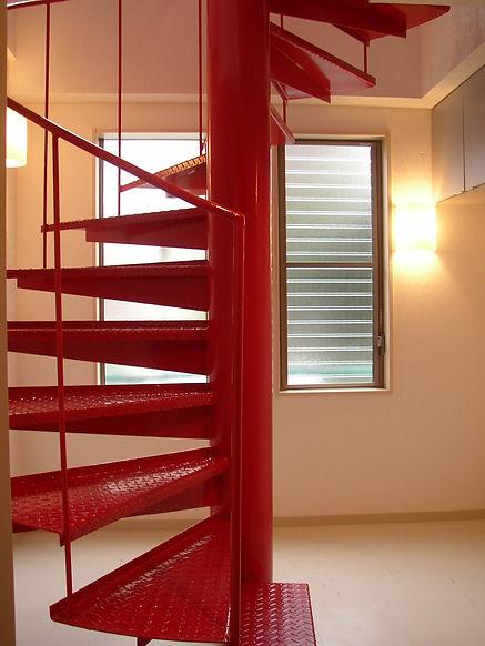北矢部の家階段 .JPG