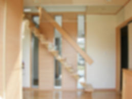 中庭のある家階段 .jpg