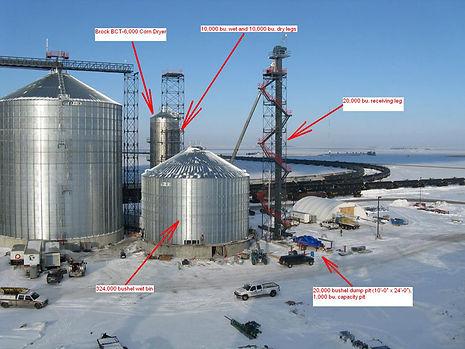 Bowdle SD Grain Elevator Construction
