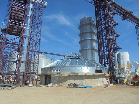 Grain Dryer Bin Installation