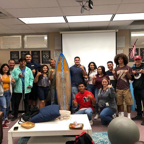 East Valley Board Riders meeting at Desert Mirage High School